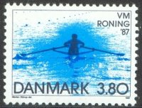 stamp den 1987 aug. 27th wrc copenhagen mi 899 1x