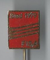 Pin YUG 1979 WRC Bled Logo red colour Coll. MM