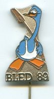 pin yug 1989 wrc bled official logo