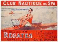 Poster BEL 1901 Regatta Spa image on magnet