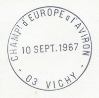 pm fra 1967 sept. 10th vichy erc day of men s finals