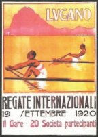 Magnet SUI 1920 International regatta Lugano image from poster