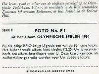 cc ned 1964 brio olympische spelen serie f1 the three m1x medal winners ivanov urs hill gdr and kottmann sui at og tokyo reverse