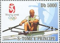 stamp stp 2008 march 10th mi 3415 og beijing vaclav chalupa cze silver medal winner og barcelona 1992