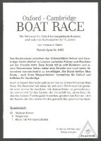 Card game AUT 1997 Oxford Cambridge Boat Race explanation