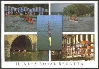 pc gbr the romance of henley series 1992 h 14 views of the regatta five photos