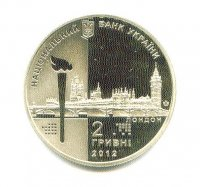 coin ukr 2012 og london nickel silver copper nickel zinc pp front