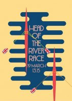 Poster GBR Head of the River Race image on magnet