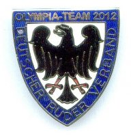 pin ger 2012 olympic team german rowing federation