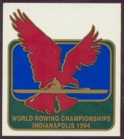 sticker usa 1994 wrc indianapolis eagle and 1x