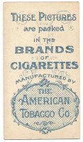 CC USA 1900 AMERICAN TOBACCO World Views Henley Regatta reverse