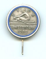 pin ned 1939 erc amsterdam single sculler