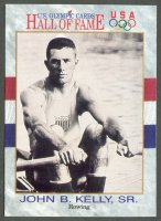 cc usa 1991 u.s. olympic cards hall of fame no. 47 john brenden kelly sr. front
