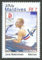 stamp mdv 2008 jan. 8th mi 4662 og beijing jack beresford 1899 1977