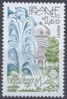 stamp fra 1981 june 6th vichy mi 2268