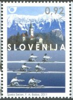stamp slo 2011 may 27th wrc bled