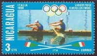 stamp nca 1976 july og montreal mi 1950 ita 2 baran sambo olympic champions mexico 1968