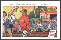 PC GBR Bamforth Comic Card Series No. 16 Would you like to