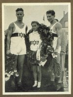 cc ger 1936 og berlin cremer olympia 2 ger gustmann arend cox adamski gold medal winners
