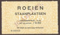 Ticket NED 1928 Aug. 10th OG Amsterdam day of finals
