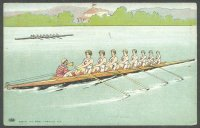 pc usa cornell university w8 crew undivided back pre 1905
