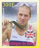 stamp ben 2008 jeux olympiques athletes legendaires steve redgrave imperforated