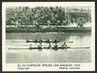 CC NED 1932 OG Los Angeles M4 fight between GER front gold medal winner and ITA silver medalpg