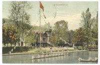 PC AUT Bruenner RC Bruna boathouse Steinmuehle PU 1906