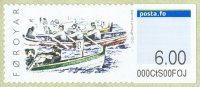 stamp den faroer islands 2010 sept. 20th mi 10 self adhesive gig race
