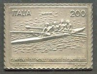stamp ita 1982 aug. 4th jwrc piediluco replica in 986 silver no. 237 of 1000