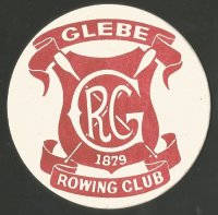 Beer mat AUS Glebe RC 1879 Sydney red brown