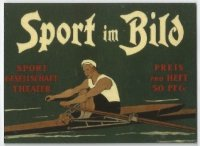 Magazine cover GER 1895 Sport im Bild image on magnet
