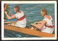 cc ger 1929 sulima cigarettenfabrik olympiade 1928 serie 122 bild 3 a german rowing victory at amsterdam gold for 2 ger
