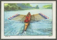 cc sui 1937 nestle chocolate cards rowing series 50 no. 6