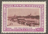 Cinderella CAN 1936 Vancouver RC founded 1886 50th anniversary