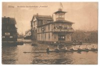 PC GER Elbing RC Vorwaerts founded 1869 boathouse PU 1919