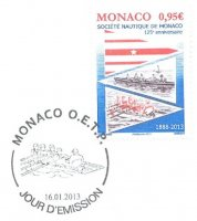 pm mon 2013 jan. 16th 125th anniversary of sn de monaco