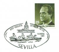 pm esp 1991 jan. 13th sevilla xxv regata sevilla betis