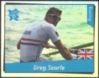 cc gbr 2012 panini london 2012 no. 334 greg searle gbr