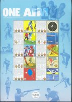 stamp gbr 2010 july 27th mi 2977 86 paralympic games london 2012 one aim