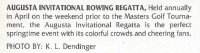 PC USA Augusta Invitational Rowing Regatta detail on back