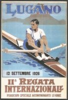 Magnet SUI 1926 International regatta Lugano image from poster