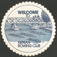 Beer mat AUS Nepean RC Penrith NSW I