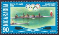 stamp nca 1976 july og montreal mi 1956 4 nzl olympic champion mexico 1968