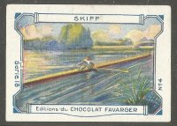 CC FRA CHOCOLAT FAVARGER serie 18 No. 4 Skiff