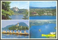 pc yug 1989 wrc bled four views of lake bled