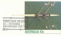 pm aus 1990 oct. 26th davenport tasmania wrc stationary two oars framing text g