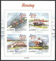 Stamp SLE 2015 gold medal winners OG London 2012 imperforated MS