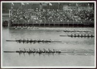 cc ger 1936 og berlin reemtsma band ii no. 113 photo of 8 final crossing the finish line