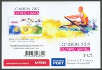 stamp aus 2012 og london booklet reverse